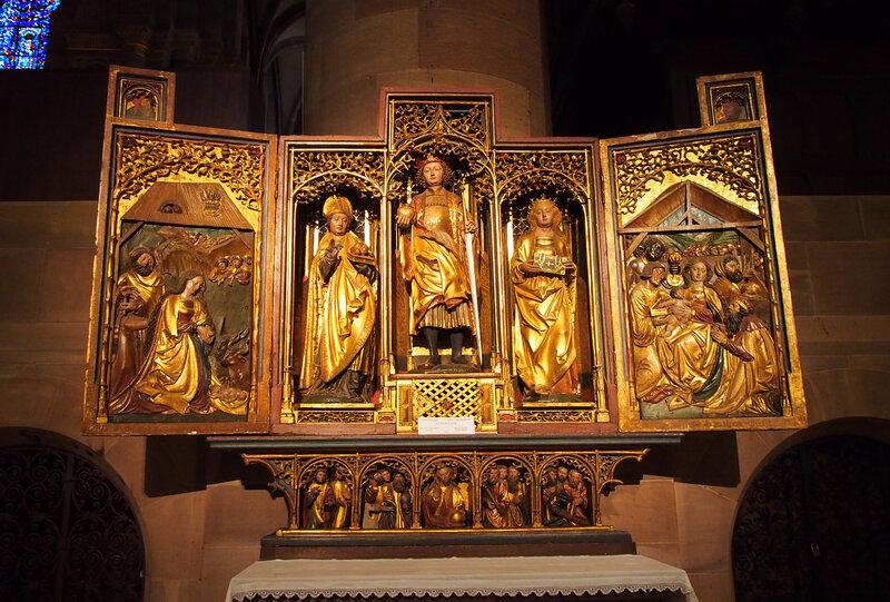 Страсбургский собор. Алтарь Святого Панкратия