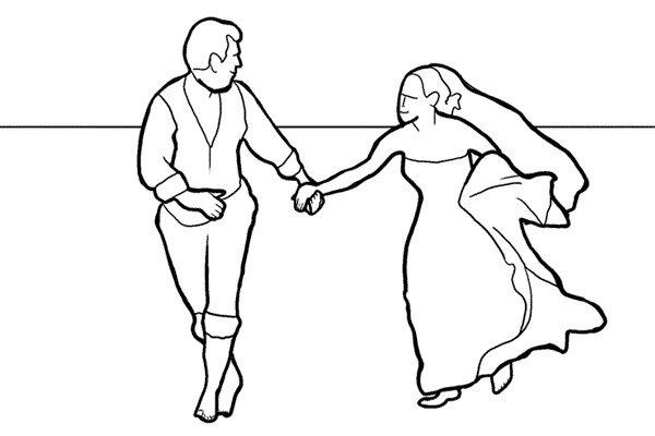 Позирование: позы для свадебной фотографии 13