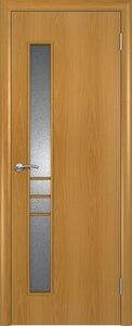 Ламинированные двери с узким стеклом