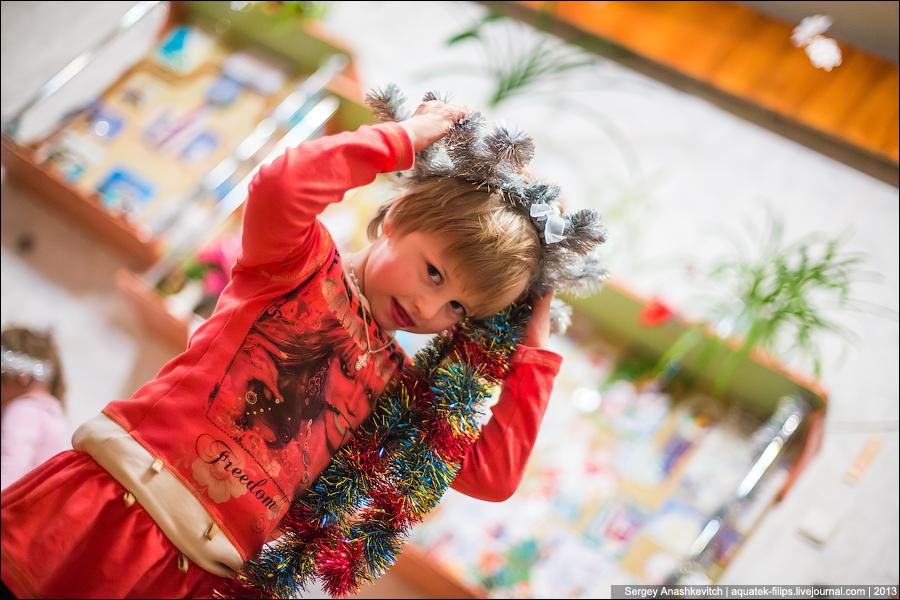 Новый год в детском доме