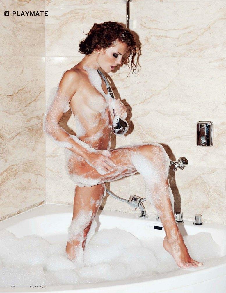 Девушка месяца Валерия Лахина - Playboy Россия январь 2014