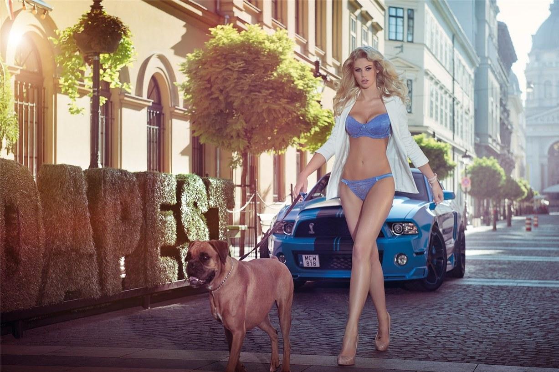 Leonie Hagmeyer-Reyinger - Miss Tuning Official Calendar 2014