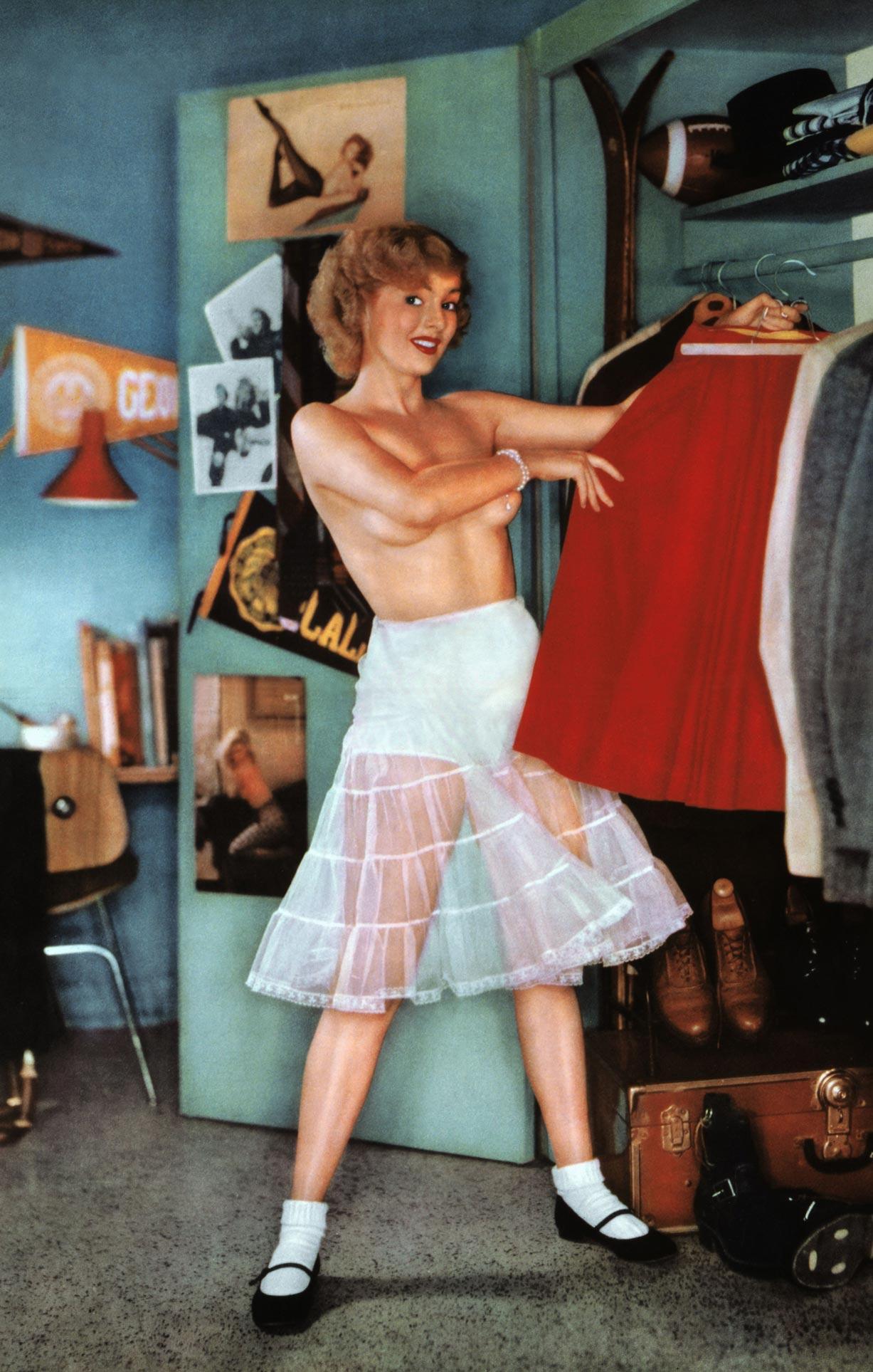 Playboy Playmate - Miss October 1955 | Jean Moorehead / Джин Мурхед