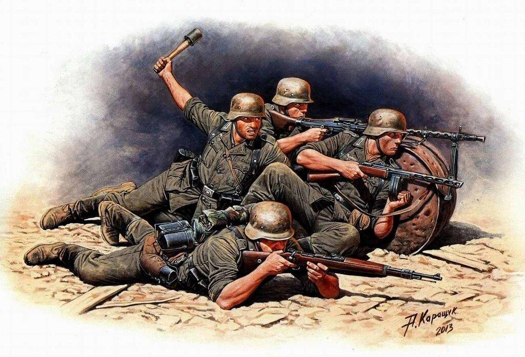 Немецкая пехота на Восточном фронте (Андрей Каращук)