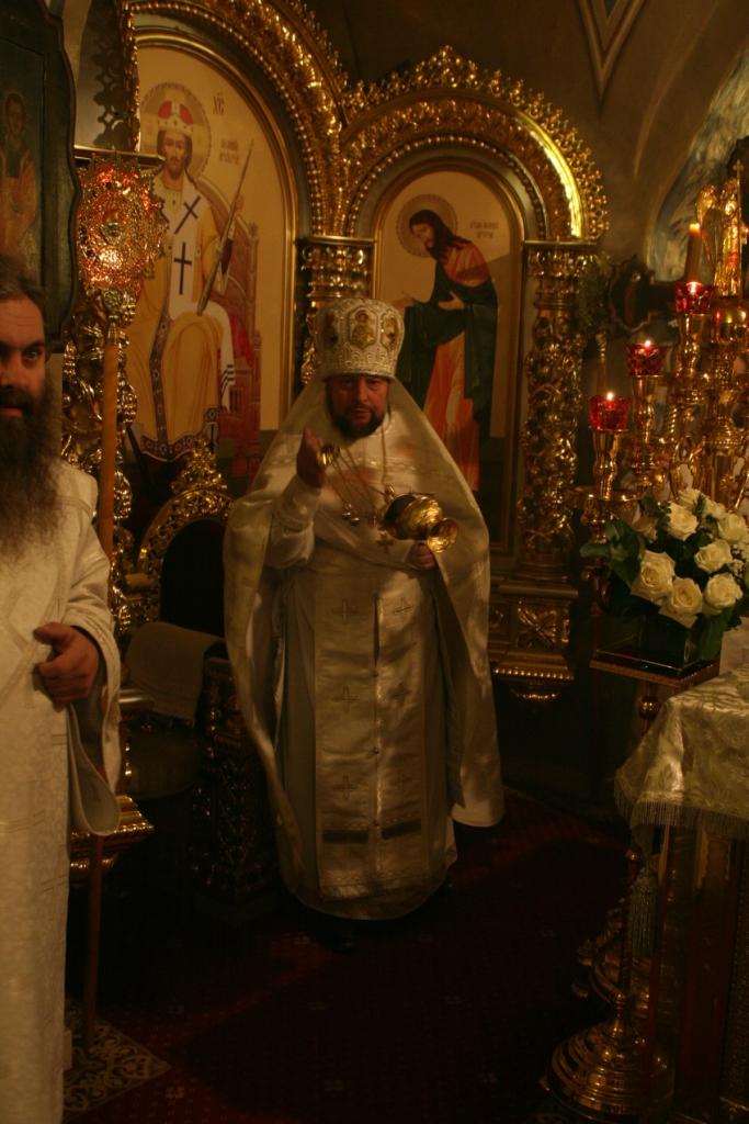 ночная служба Рождества Христова. 2014