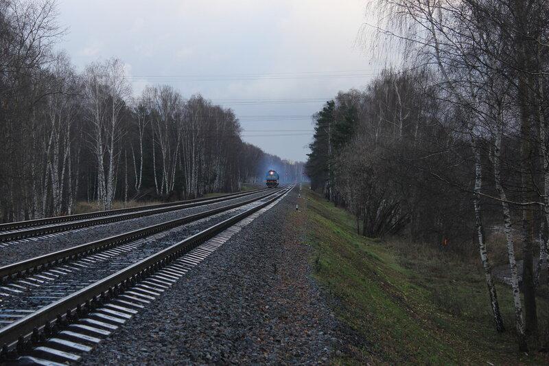Перегон Ростокино - Белокаменная с АЧ2-088