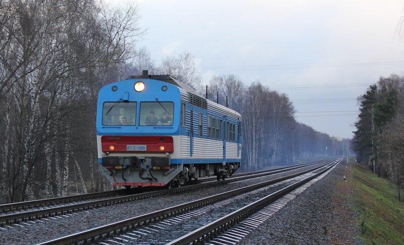АЧ2-088 на перегоне Белокаменная - Ростокино
