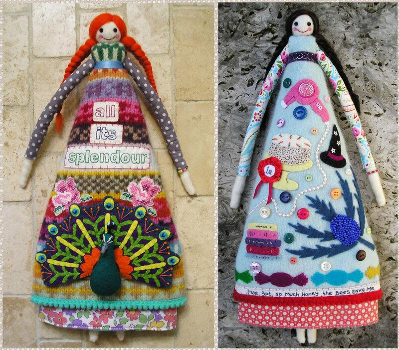 куклы из шерсти