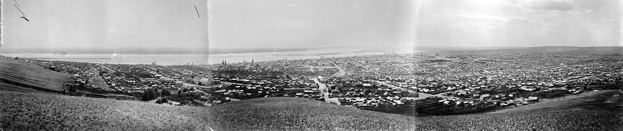 Общий вид города с Соколовой горы 1894