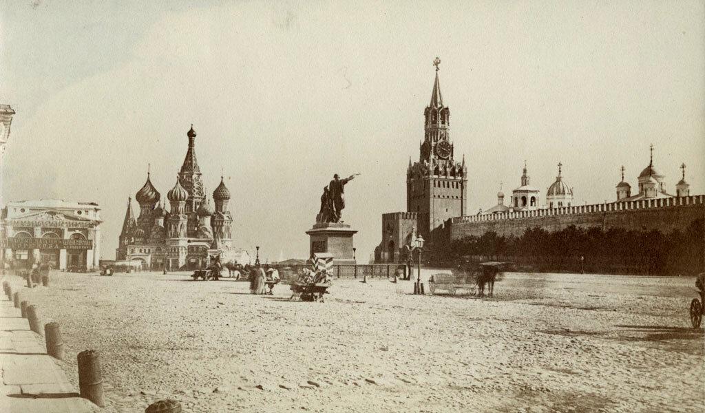 Москва. Красная площадь. 1880