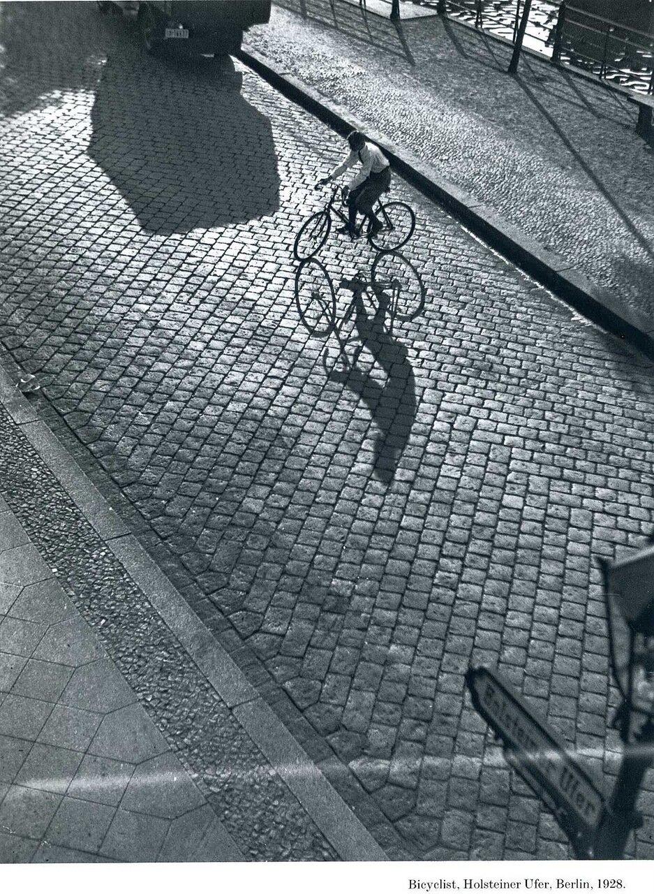 1928. Велосипедист. Берлин