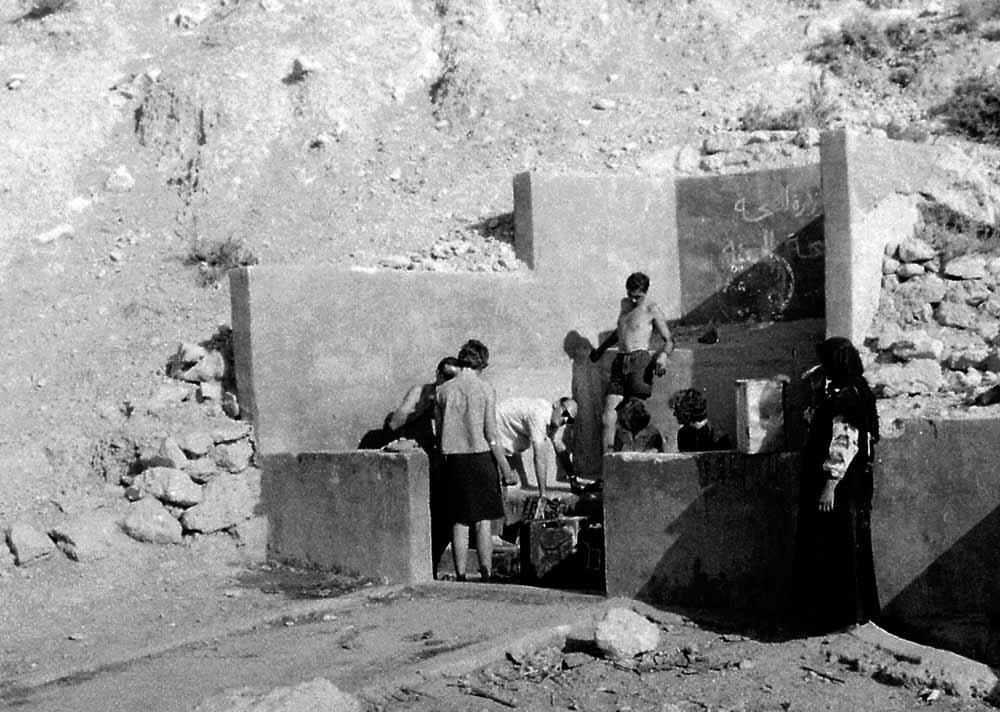 Израиль. Колодец по дороге Иерусалим-Амман