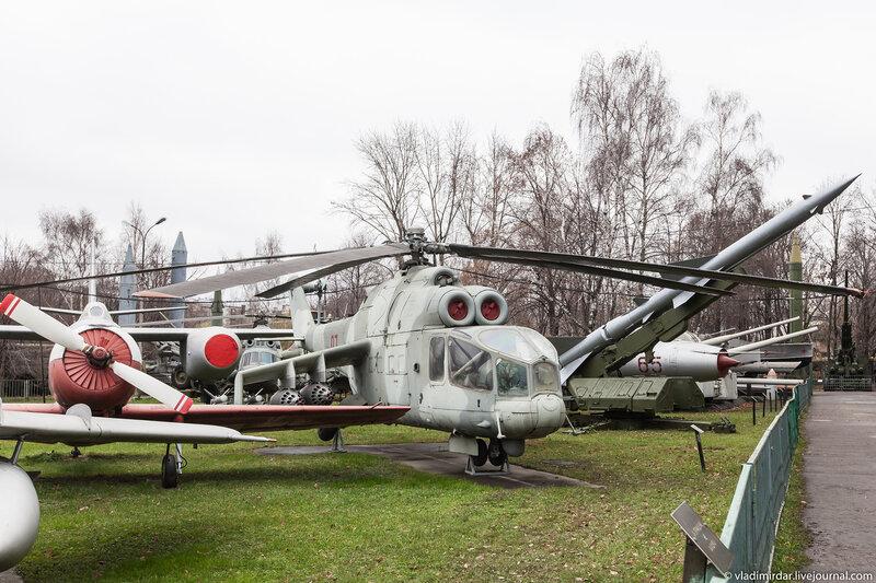 Боевой ветролет МИ-24А