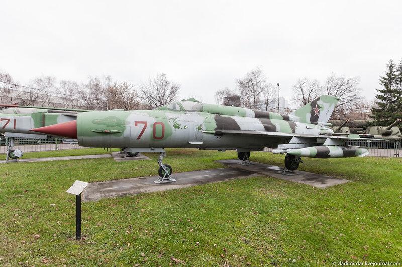 Фронтовой истребитель МиГ-21СМ