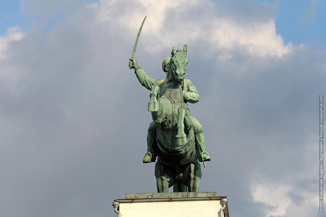 шлюз №15 «Донские казаки» скульптурная группа