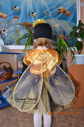 Как сделать костюм для мухи-цокотухи