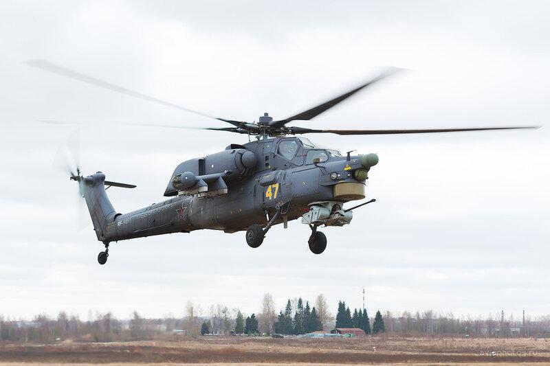 Миль Ми-28Н (RF-91091 / 47 жёлтый) D803982