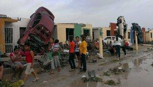 Возросло число жертв от торнадо в Мексике