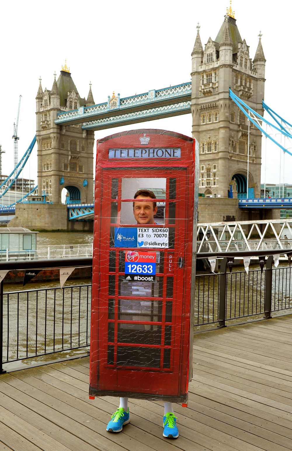 Athletics - Virgin Money London Marathon 2014 - Guinness World Records Marathon Photocall - Tower Bridge