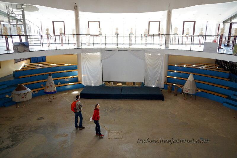Арена. Этномир, крытый павильон (улица Мира), Калужская обл.
