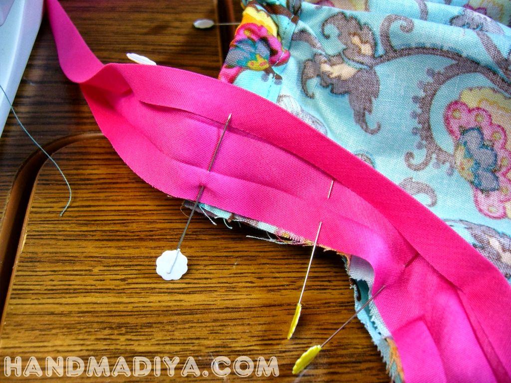 Шьем платье, просто и быстро.  How to sew a summer dress