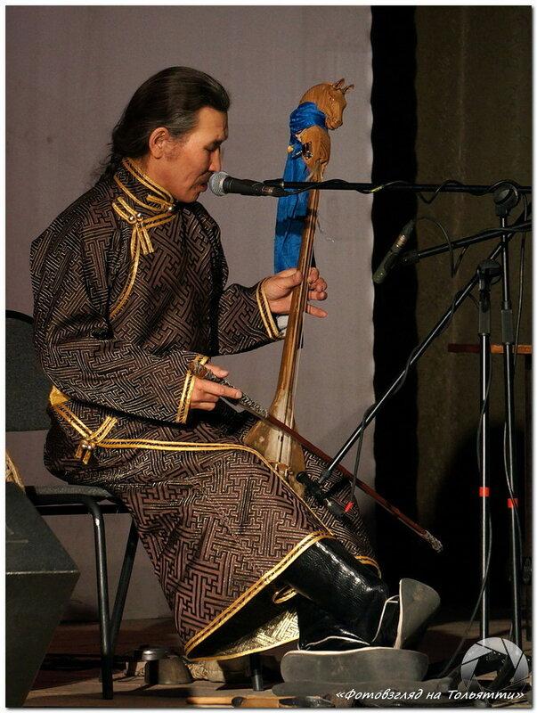 Концерт Хуун-Хуур-Ту в Тольятти