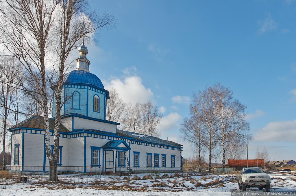 фото старой церкви в мурмино неприятных
