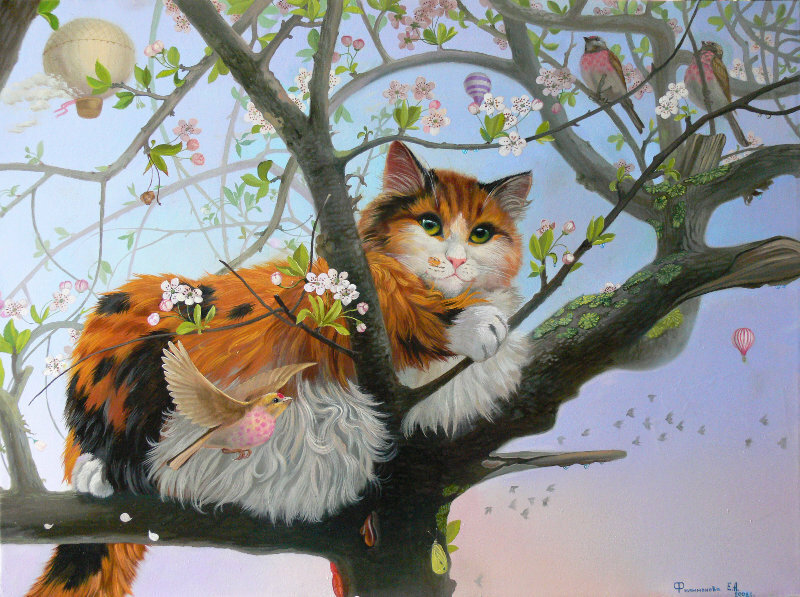 Екатерина Филимонова. Кошачьи грёзы