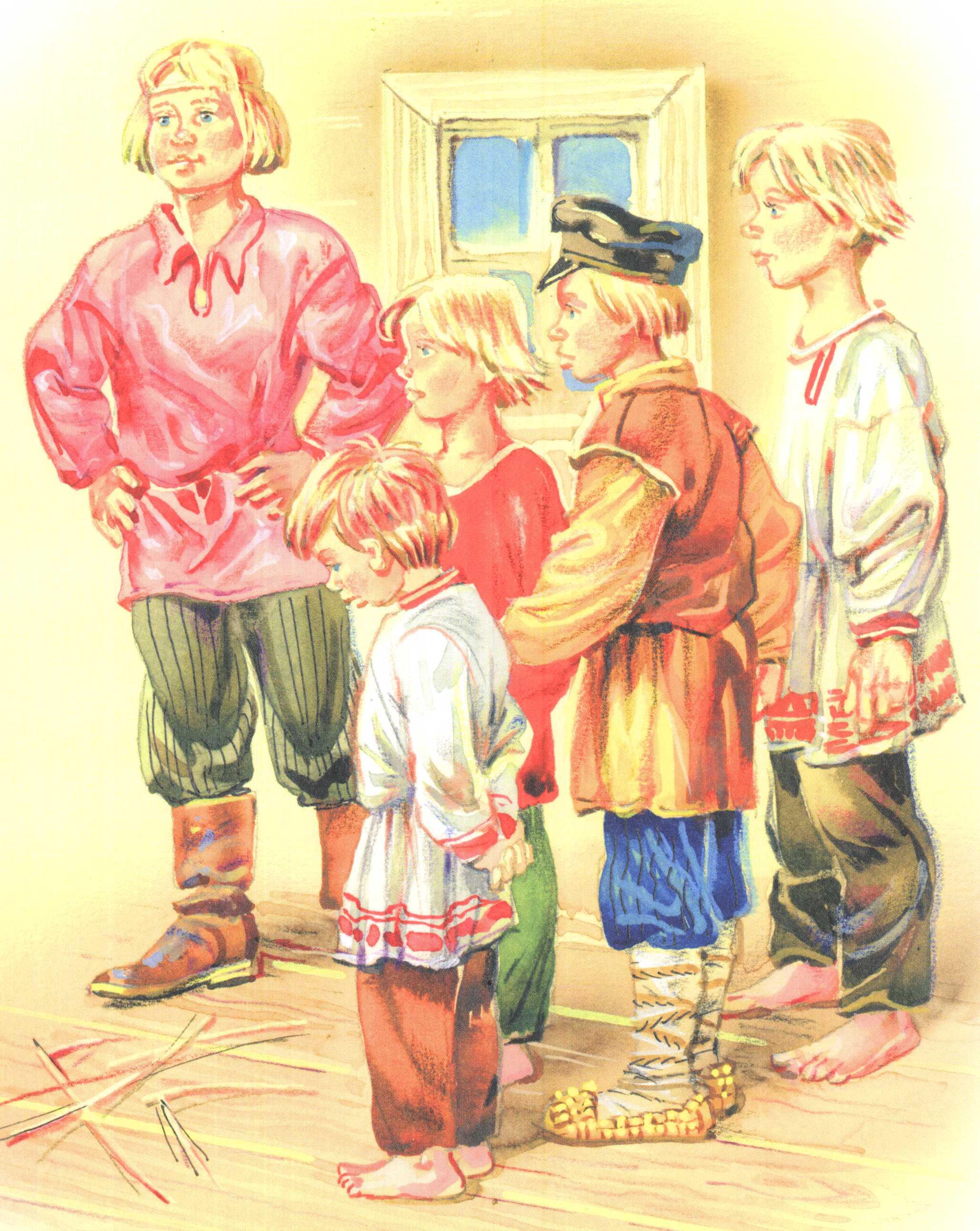 сыновья рисунок: