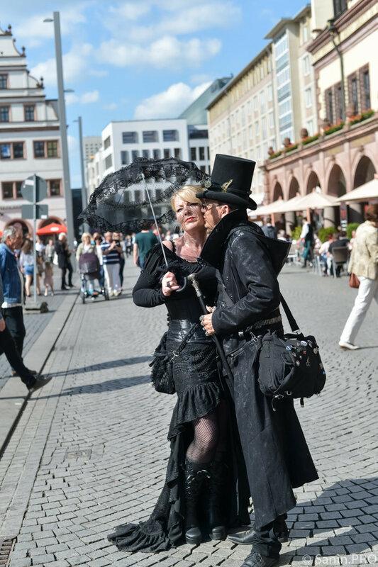 Фестиваль готики Wave Gotik Treffen 2015 в Лейпциге