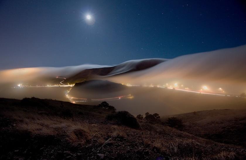 Красивые фотографии тумана в Сан Франциско, США 0 14228b 51baed6 orig