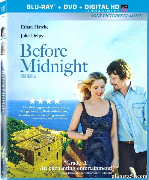 Перед полуночью / Before Midnight (2013/BDRip/HDRip)