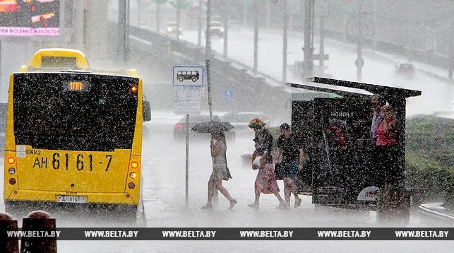 Прогноз погоды на 19 июля: в некоторых районах ожидаются сильные ливни и град