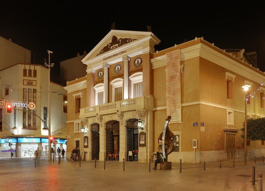 Castellon de la Plana,  Кастельон де ла Плана.   Teatro Principal - главный театр города