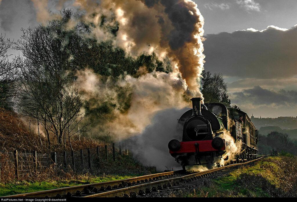 Locomotive Tanfield Railway Steam 0-4-0,  Boyds Farm, Gateshead, United Kingdom, February 02, 2014