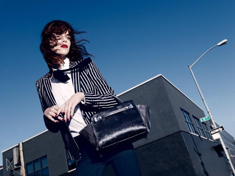 Меган Коллисон в рекламе Botkier (4 фото)