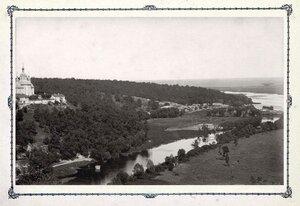 Молчанский монастырь и река Сейм