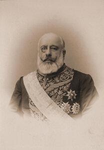 Вилло-де-Гомзайгло (имя и отчество не установлены) - член Государственного Совета Российской империи. Портрет.