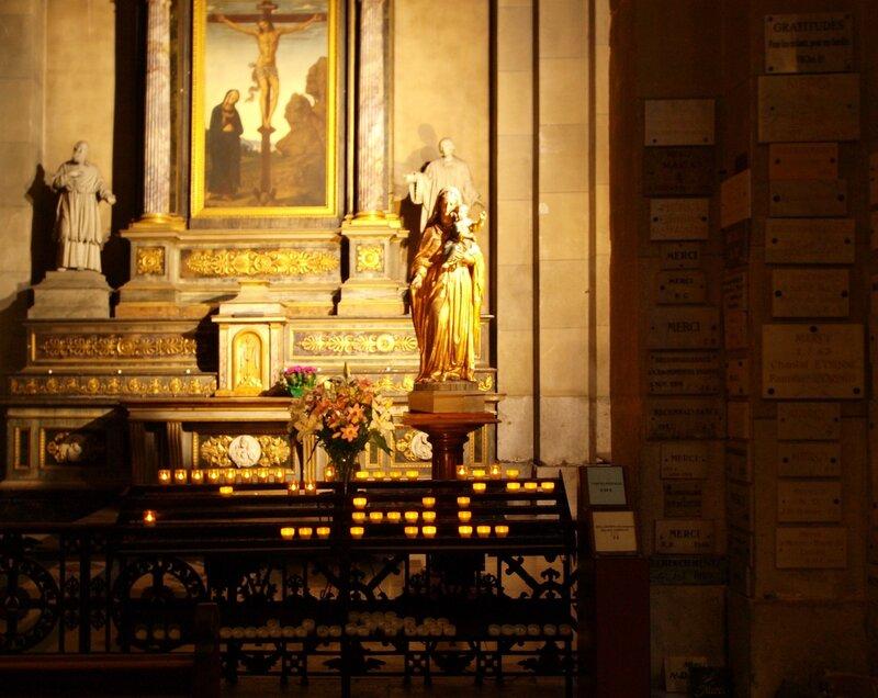 В Кафедральном Соборе Св. Петра в Анси.