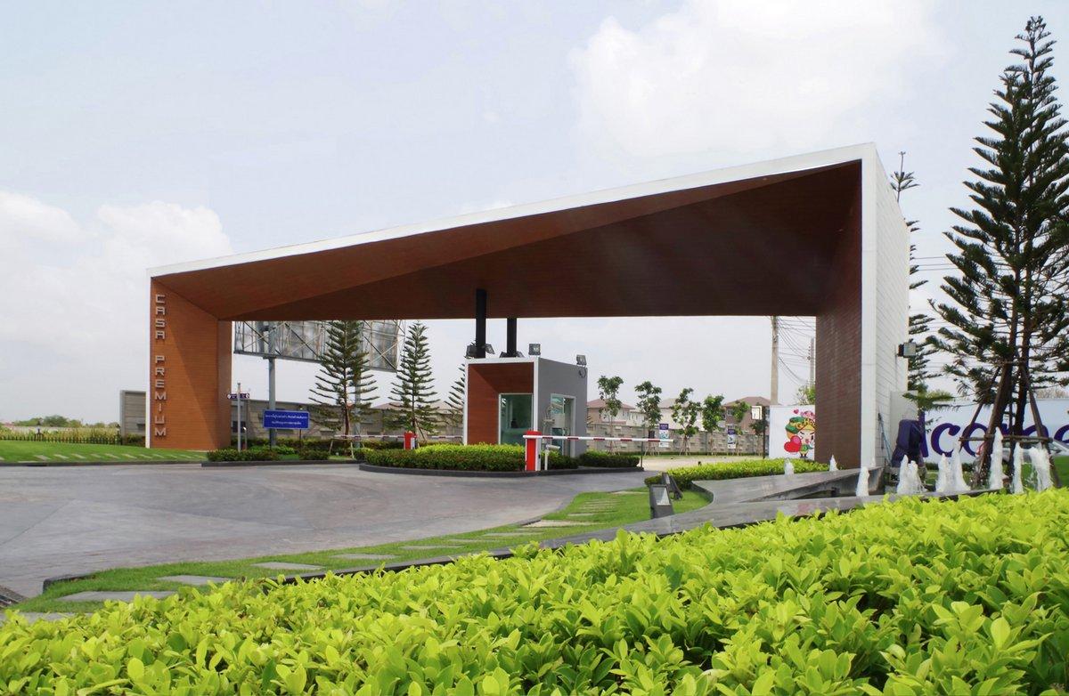 Casa Premium Rama 2, PODesign, особняки в Таиланде, роскошный особняк фото, особняки в Таиланде, Bang Khun Thian, Spaceshift Studio, дом миллионера