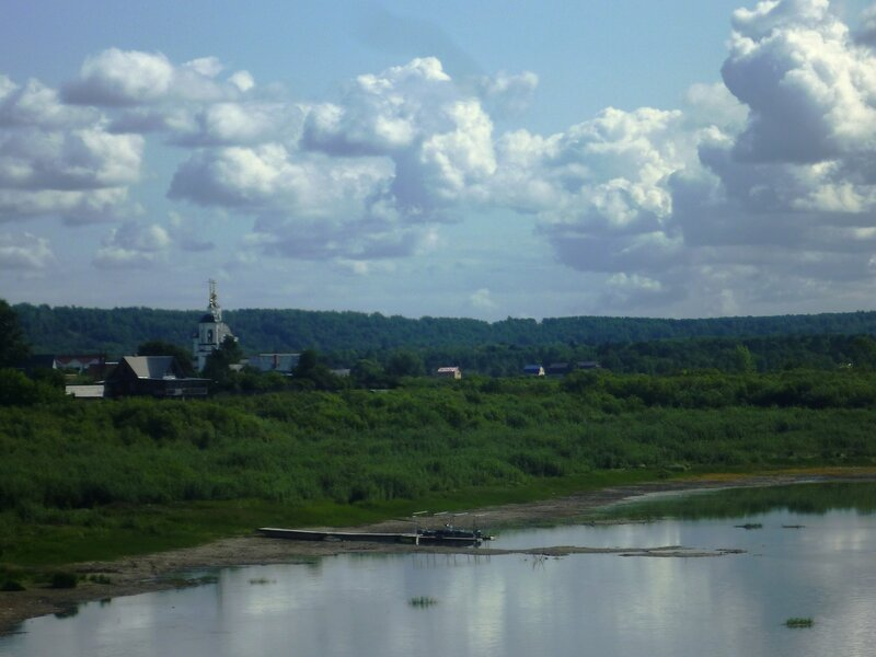 Россия, река Томь (Russia, the river Tom)