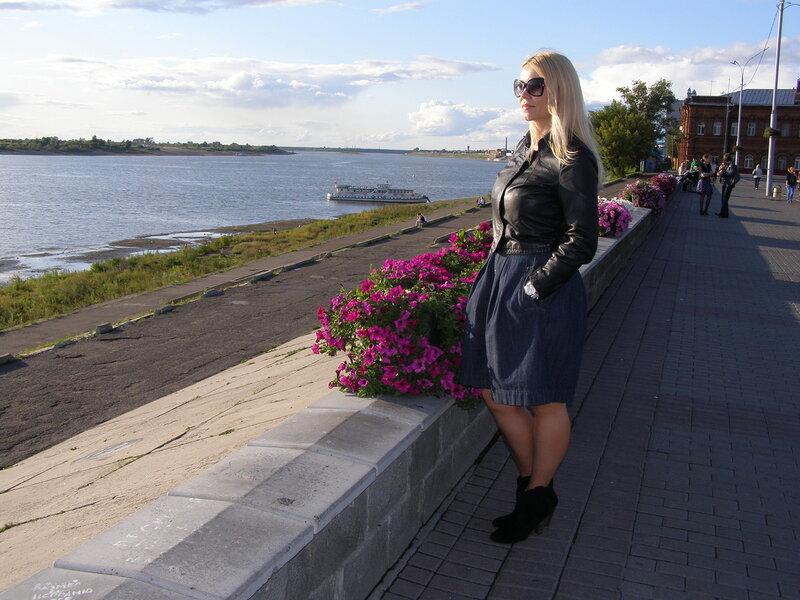 Россия, Томск - набережная (Russia, Tomsk - the embankment)
