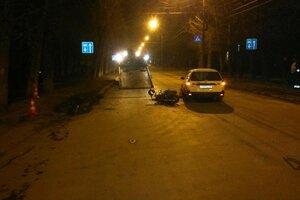 На дорогах Новосибирска началась череда аварий с мотоциклистами