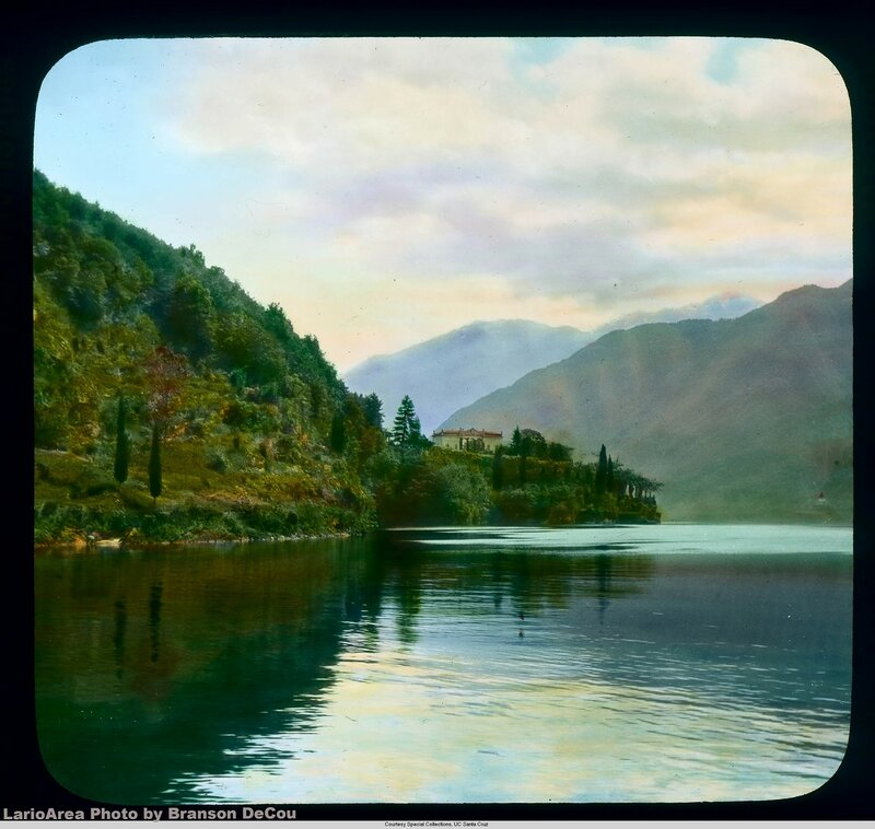 Lake Como: Point Campo (?) on Lake Como
