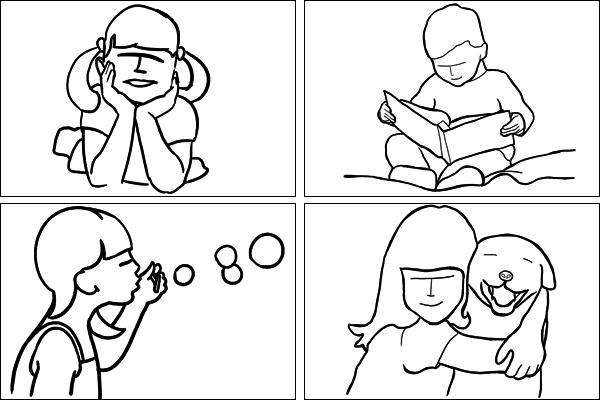 Позы для детского портрета