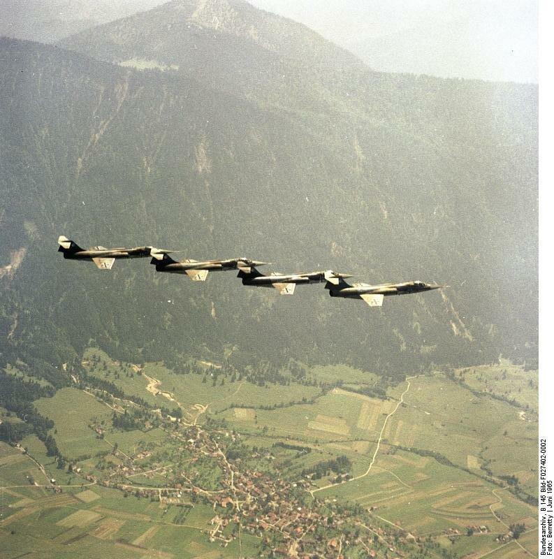 Flugzeuge F-104 Starfighter, JG 74