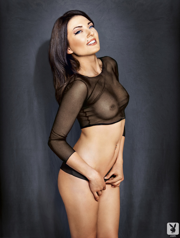 Словенская красавица Сара Мерчник / Sara Mercnik - Playboy