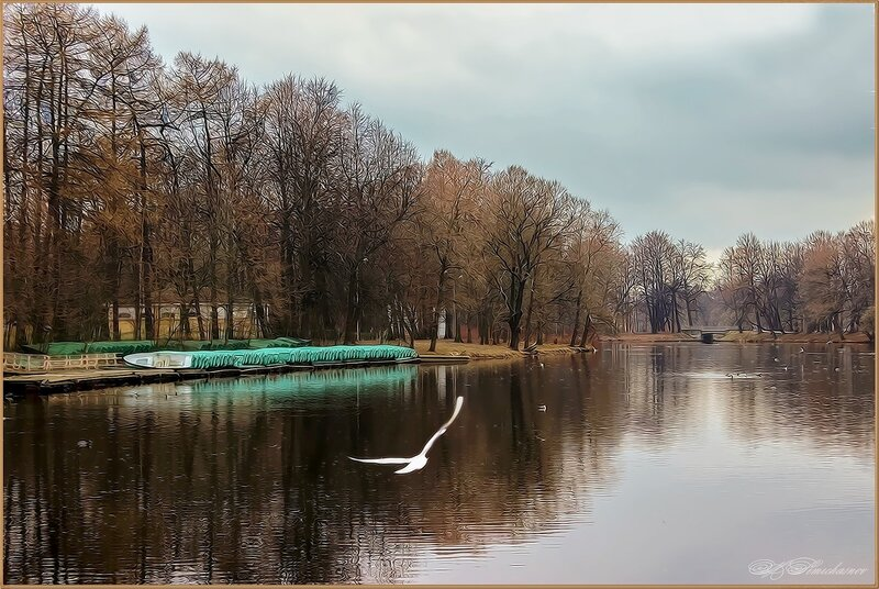 Четвертый северный пруд.