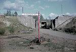 1940-01-01 Koirinojan alikytvll. Pioneerimme являются rjyttneet железнодорожный мост. Примечание: Смотреть черно-белое изображение СА-14.9.1944, который описал 162800. Место: Koirinoja