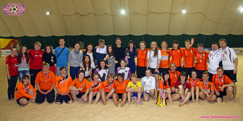 III Санкт-Петербургский Кубок ЖФЛ 2014 по пляжному футболу (indoor)